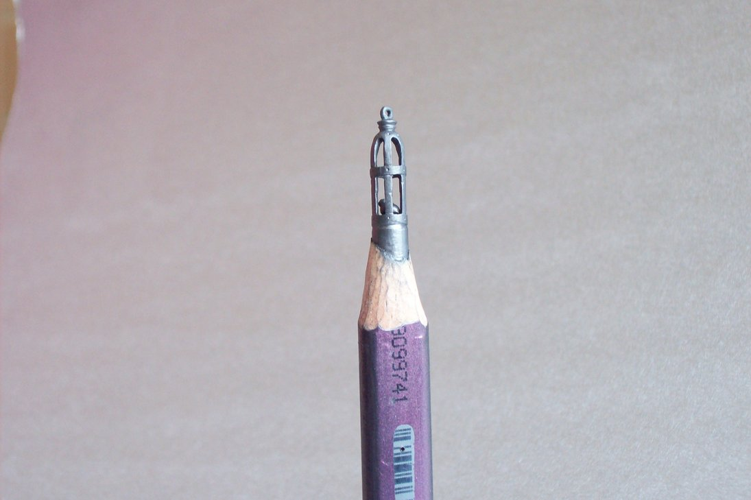 Pencil Sculptures by Ágoston Birtalan