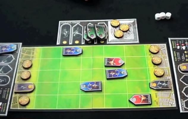 Vici: Game board